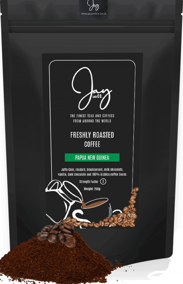 FRESHLY ROASTED ARTISAN COFFEE - PAPUA NEW GUINEA
