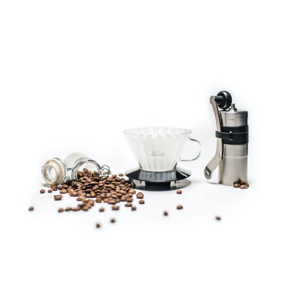 Coffee Beans and Filter